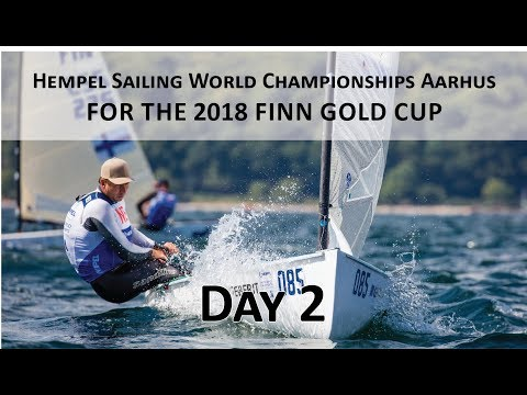 Highlights from Day 2 of the 2018 Finn Gold Cup in Aarhus