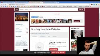 Meetup.com - How to Use Meetup.com to Get Clients and Build a Social LIfe