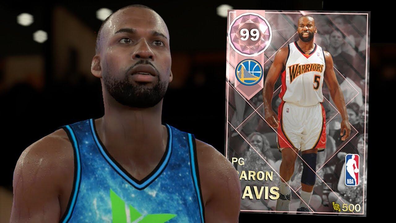 b69b8488544 PINK DIAMOND BARON DAVIS GAMEPLAY! BEST POINT GUARD! (NBA 2K18 MYTEAM)