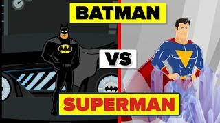 Batman vs Superman - Who Is Better?