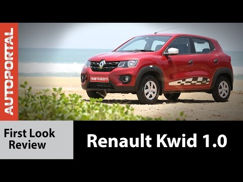 Renault Kwid 1.0-litre (1000cc) Test Drive Review - Autoportal