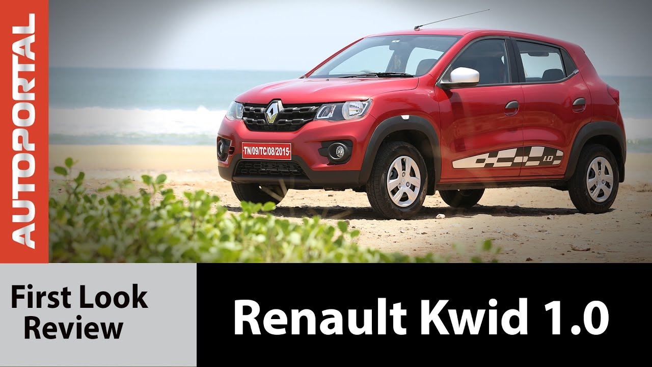 renault kwid 1 0 litre 1000cc test drive review autoportal youtube. Black Bedroom Furniture Sets. Home Design Ideas