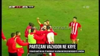 Partizani vijon në krye; Vllaznia dhe Bylisi kthehen te 3-pikëshi - Top Channel Albania