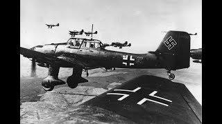Самый известный самолет Люфтваффе. Юнкерс Ju 87 'Штука'