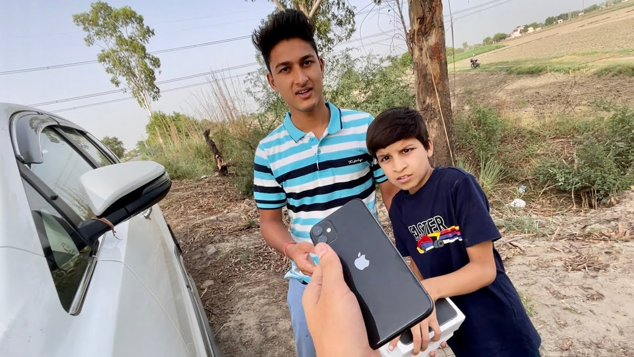 Gifted My Iphone To Sahil 😃