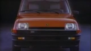 1982 Champion Spark Plug Commercial   Features Renault LeCar - Bill Woodson Voice Over