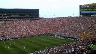 Real Madrid vs Man U @ Michigan Stadium | The Wave