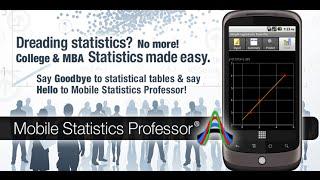 Dread statistics no more with Mobile Statistics Professor BlackBerry App