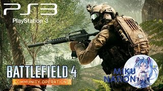 Battlefield 4: Community Operations на PS3 + немного крейсера.