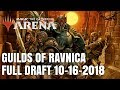 Magic The Gathering: Arena - Guilds of Ravnica   Full Draft  10/16/2018