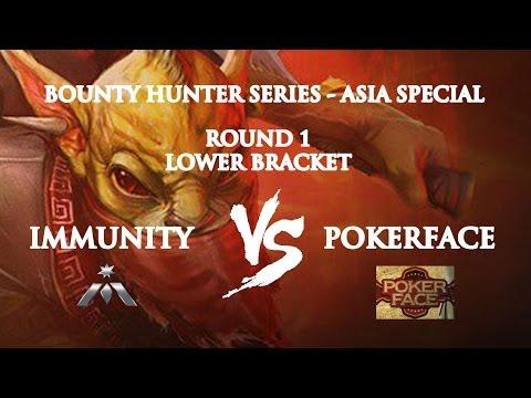 DOTA 2 - IMMUNITY vs POKER FACE - R1 LB - Bounty Hunter ESPECIAL ASIA - Viciuslab
