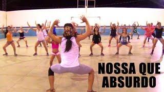 ZUMBA - Nossa Que Absurdo | Jerry Smith e Mc Nando DK | Professor Irtylo Santos