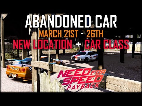 need for speed payback abandoned car locations