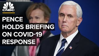 Vice President Mike Pence holds a briefing on coronavirus response — 7/14/2020