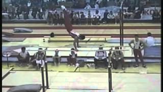 Parallel bars - Gymnast 1 (Voronin Cup 2012)