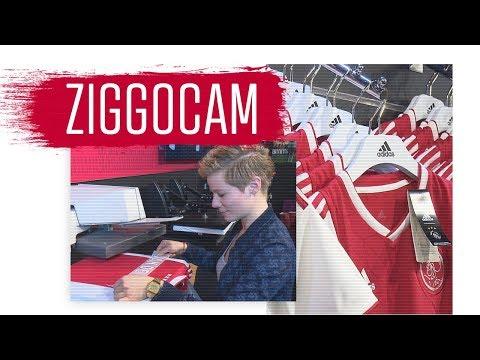 ZiggoCam: 'Veel Barcelona-fans Willen Nu Een Ajax-shirt'