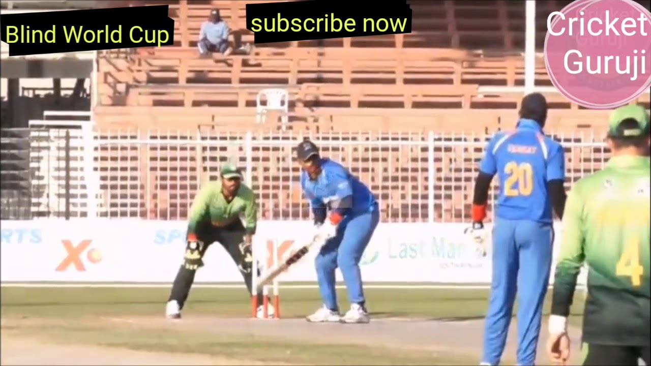 Blind Cricket World Cup 2018 Highlights || India Full Batting