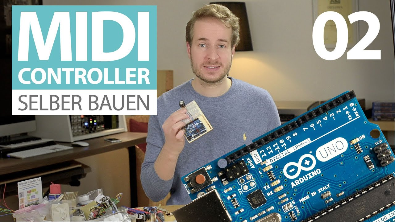 midi controller selber bauen e02 tutorial elektronik und arduino f r einsteiger youtube. Black Bedroom Furniture Sets. Home Design Ideas