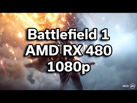Battlefield 1 Beta - i5-6402p - RX 480 - $720 Gaming Computer - Benchmark
