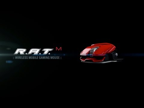 The R.A.T. M Mobile Gaming Mouse From Mad Catz