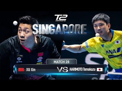 Xu Xin Vs Tomokazu Harimoto | T2 Diamond 2019 Singapore (SF)