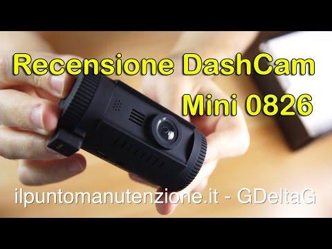 Recensione Dash Cam Ambarella A7 Mini 0826