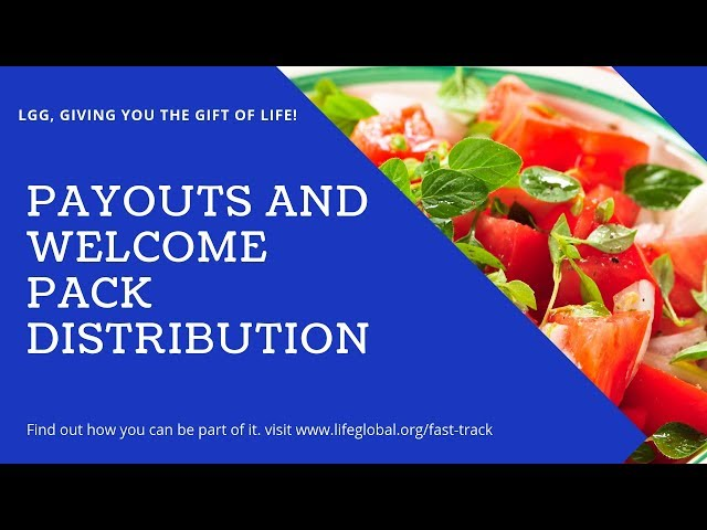 Payouts and Welcome Pack Distribution
