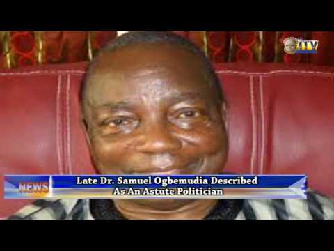 Late Dr. Samuel Ogbemudia Described As An Astute Politician