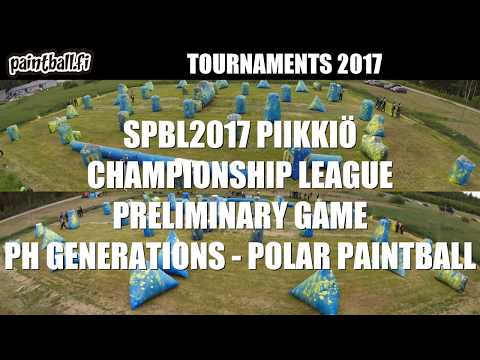 PH Generations vs Polar Paintball - SPBL2017 Piikkiö