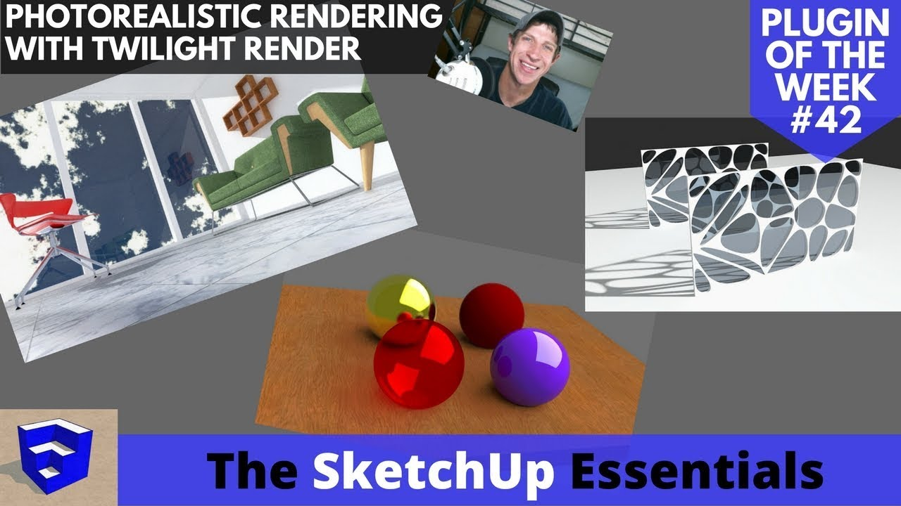 Photorealistic Renderings from Your SketchUp Models with