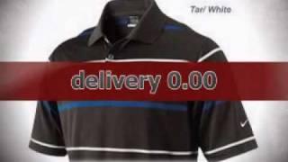 Nike Golf Tech Wide Stripe Polo Shirt