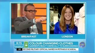 Colour-changing clothes