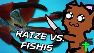 Katze VS. Fishis | Schnibselkatze | Items4Sacred [GER]