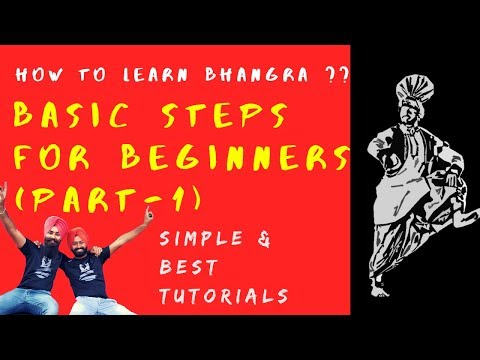 Bhangra Tutorial for Beginners || Part 1 || How to Learn Bhangra || Bhangra Planet Tutorials