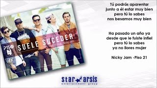 Piso 21 Ft. Nicky Jam Suele Suceder Audio Lyric Oficial.mp3