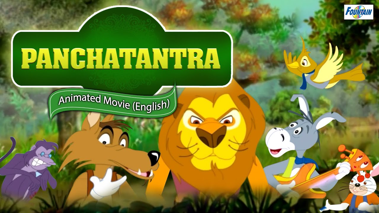 Panchatantra Tales in English - Full Movie | Best Moral Story in English for Children