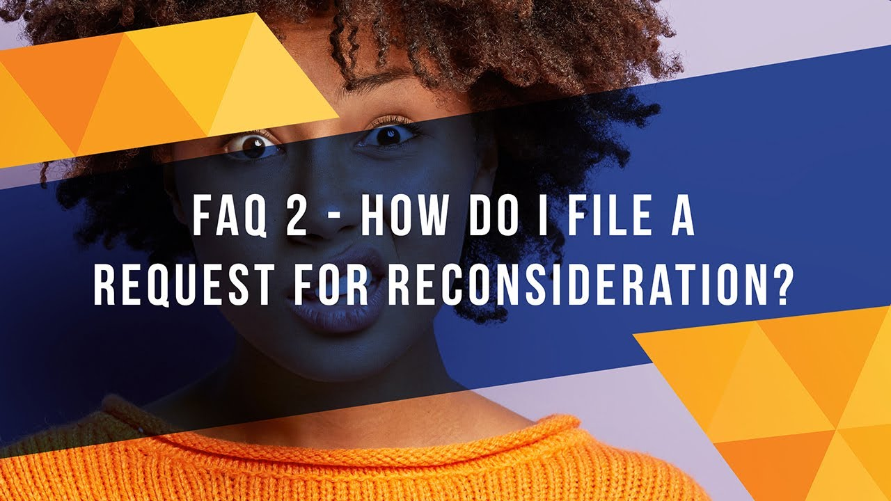How to File a Request For Reconsideration of Your Denied Social ...