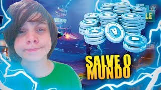 AM I GOING TO GET RICH FROM V-BUCKS? SAVE THE WORLD! Fortnite