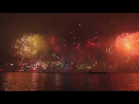 CTS Hong Kong New Year Countdown Celebrations 2018 (LIVE)