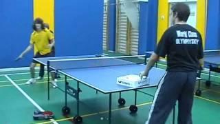 Настольный теннис. Школа Максима Смирнова
