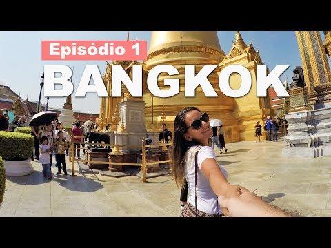 O que fazer em Bangkok: Tuk Tuk, Grand Palace, Chinatown e etc #EPISÓDIO1