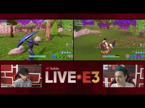 Ninja and Ali-A duo at E3 Ninja talks about the Llama Nerf
