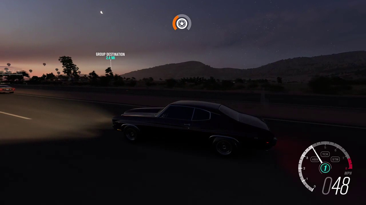 Forza Horizon Muscle Car Pulls Big Block Vs Big
