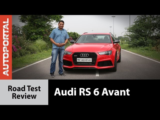 Audi RS6 Avant Test Drive review - Autoportal