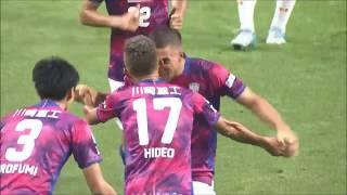 田中 英雄(神戸)がミドルレンジから強烈なシュートを叩き込み、神戸が...