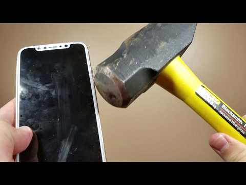 iPhone X Durability Test - Scratch and BEND Test!