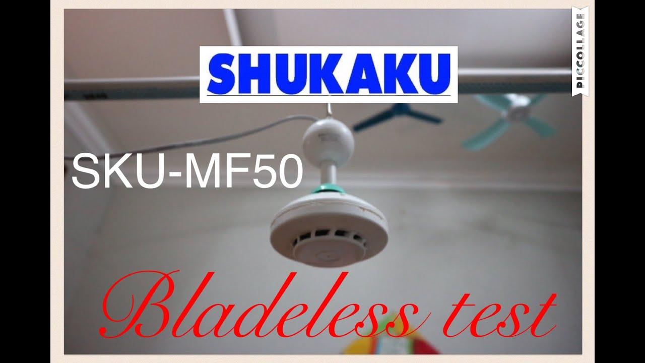 Shukaku mini ceiling fan