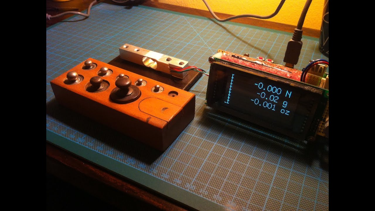 Arduino Based Digital Scale With Hx711 And Vfd Display Weight Load Cell Interface Software Lib Wiring