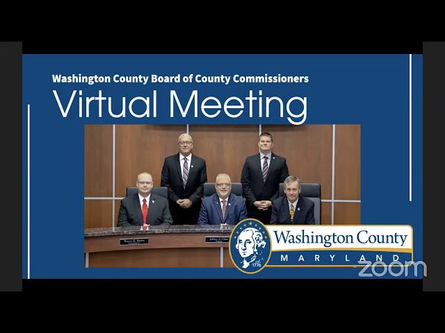 Washington County Board of Commissioner's Meeting 01/26/2021