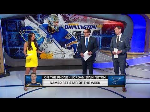 NHL Now:  Jordan Binnington on recent success in St. Louis  Feb 11,  2019